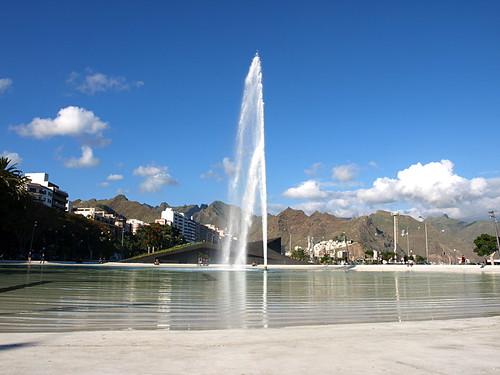 Plaza España, Santa Cruz