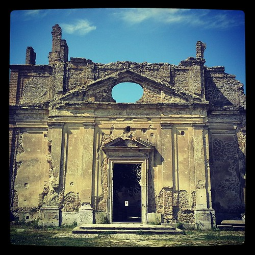 Borgo fantasma di Monterano