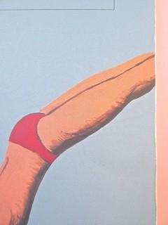 André Aciman, Chiamami col tuo nome. Guanda 2014. grafica di Guido Scarabottolo; illustrazione Giovanni Mulazzani. Copertina (part.), 3