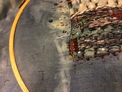 Indigo and weaving