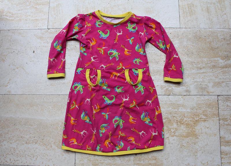 De heerlijke jurk