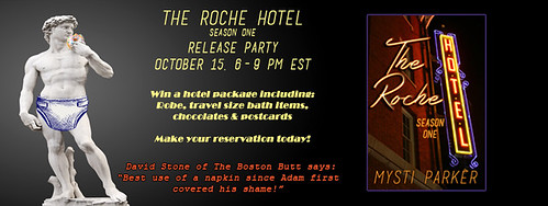 Pre-release post: The Roche Hotel by Mysti Parker