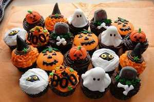 cupcakes in halloween
