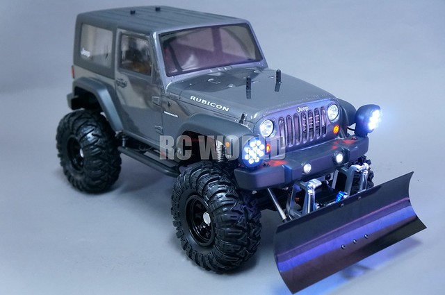 axial jeep wrangler rubicon snow plow flickr photo sharing. Black Bedroom Furniture Sets. Home Design Ideas