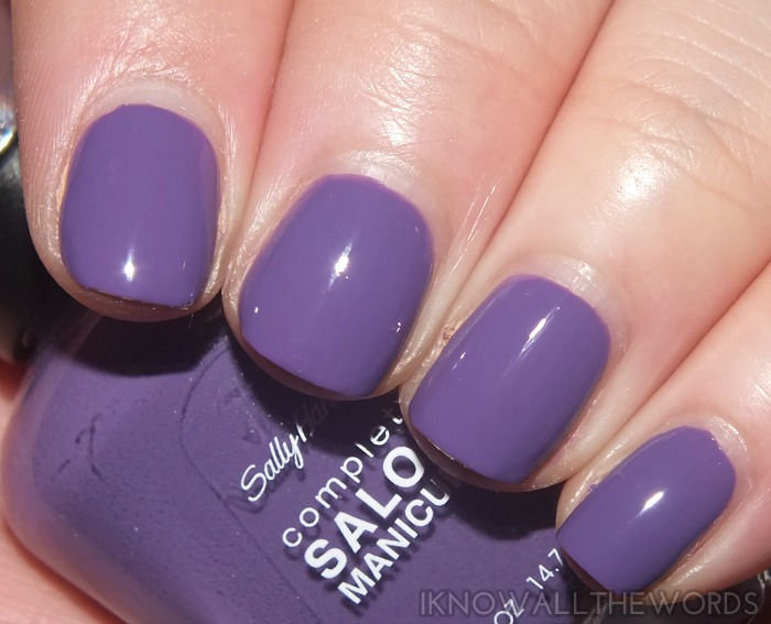sally hansen complete salon manicure fall 2014- fe fi fo plum