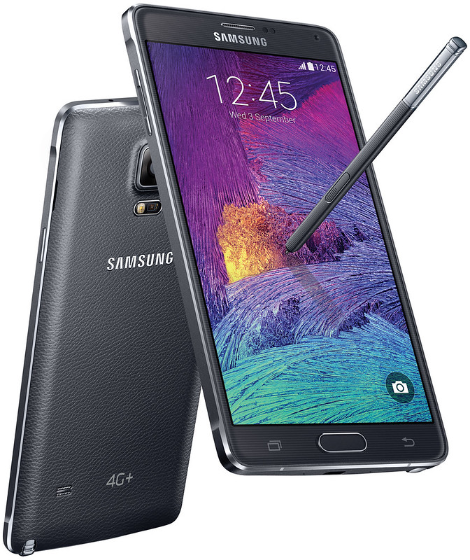 Samsung Galaxy Note 4 4G+ - Charcoal Black