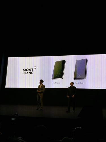 Samsung Galaxy Note 4 World Tour 2014 Singapore - Montblanc Covers