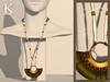 Centuria vendors - moss necklace
