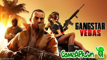 Gangstar Vegas v2.2.1a hack full tiền cho Android