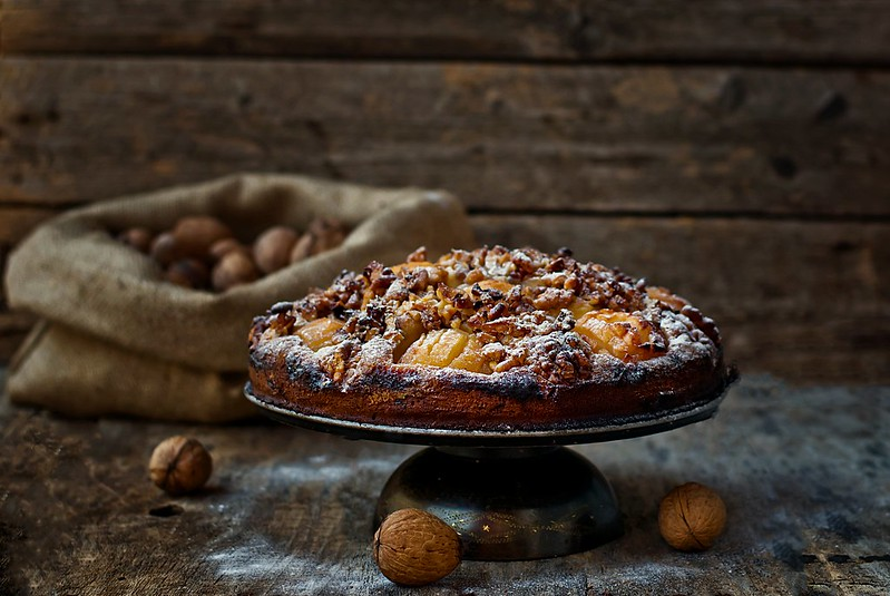 apples  and walnuts pie.3