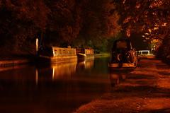 Narrowboats at Audlem