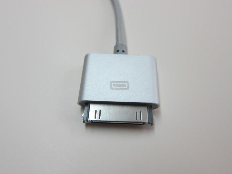 Lightning Rabbit Cables - Silver Old Skool Rabbit - Apple 30-pin End