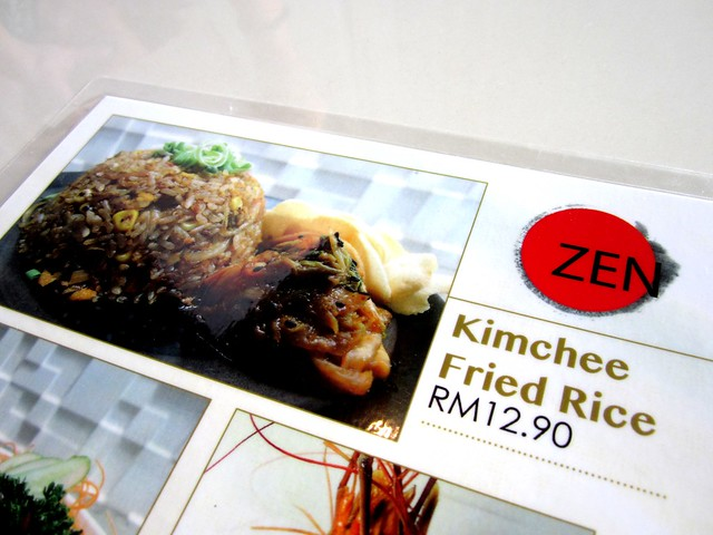 Zen menu