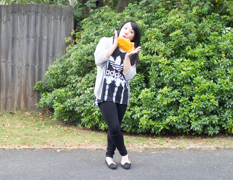 A LITTLE CHEER - ADIDAS ORIGINALS, TAIYAKI, HAPPY