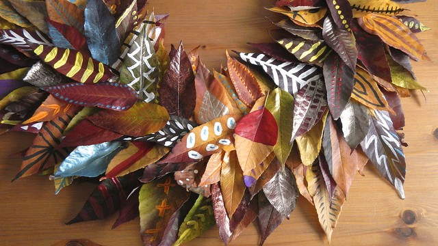 Fall Leaf Wreath 22