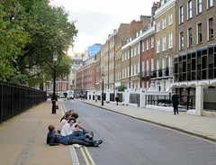 Lincolns Inn Fields WC2  - North Side
