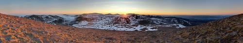 winter sunset snow ice aviemore cairngorm cairngorms