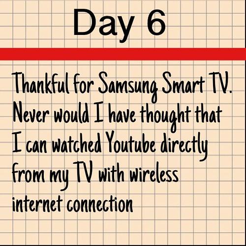 Day 6 Samsung Smart TV