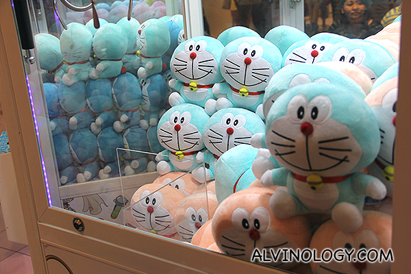 Doraemon UFO catcher