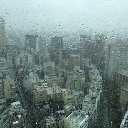 Rain from Typhoon Phanfone has stopped!