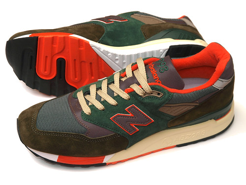 "New Balance for J.Crew / M998 ""Concrete Jungle"""