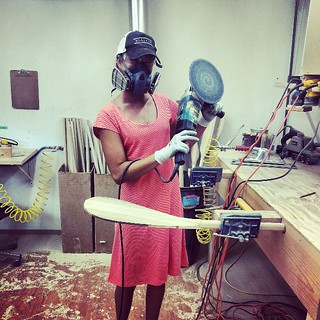 in the Kiaola workshop