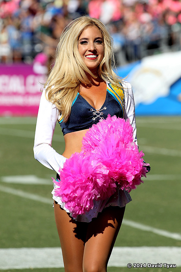 The Chargers Ground The Jets The Hottest Dance Team In