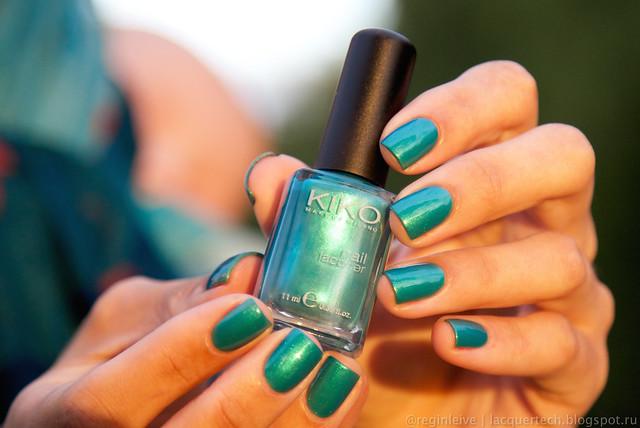 Kiko — 527 (verde smeraldo metallico)