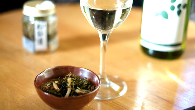 松前漬+ワイン