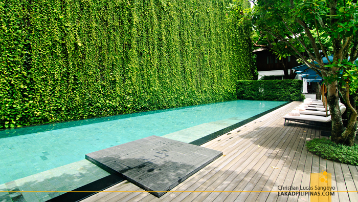 Swimming Pool at 137 Pillars House in Chiang Mai