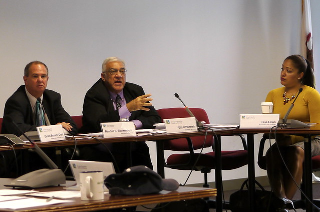 Elliott Hartstein, CMAP board member, speaks agains the Illiana Tollway
