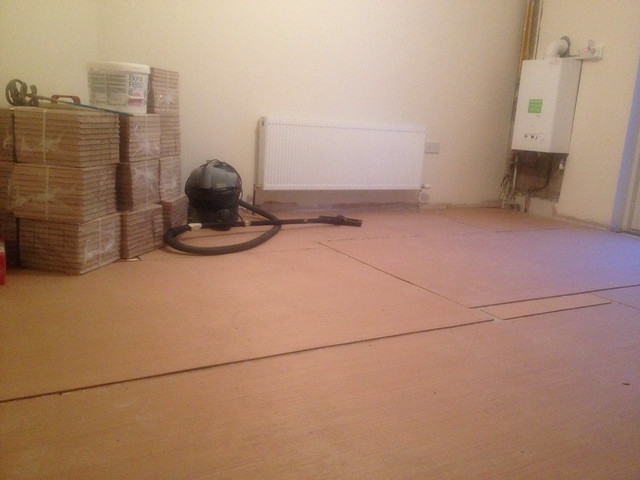 Base of Ply before the Parquet goes down