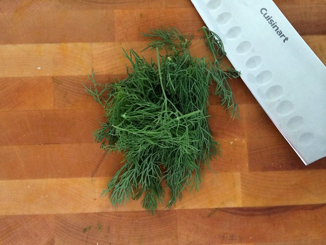 Handful of Fresh Dill