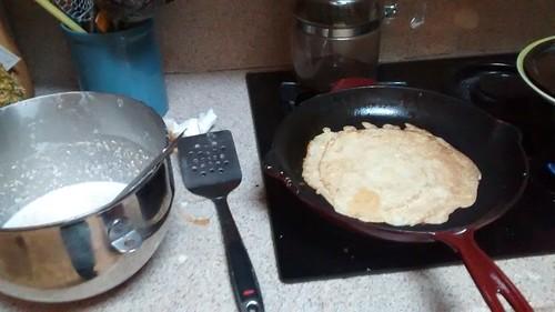 Pannekoeken bakken