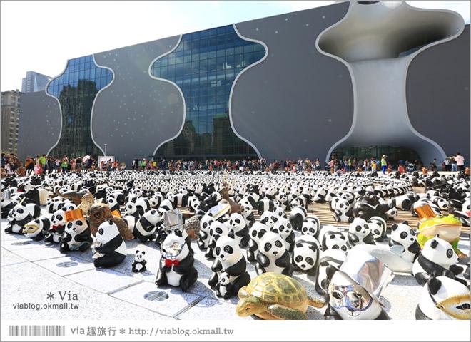 【台中】大都會歌劇院~可愛紙熊貓大軍來襲!台中七期的新亮點!2