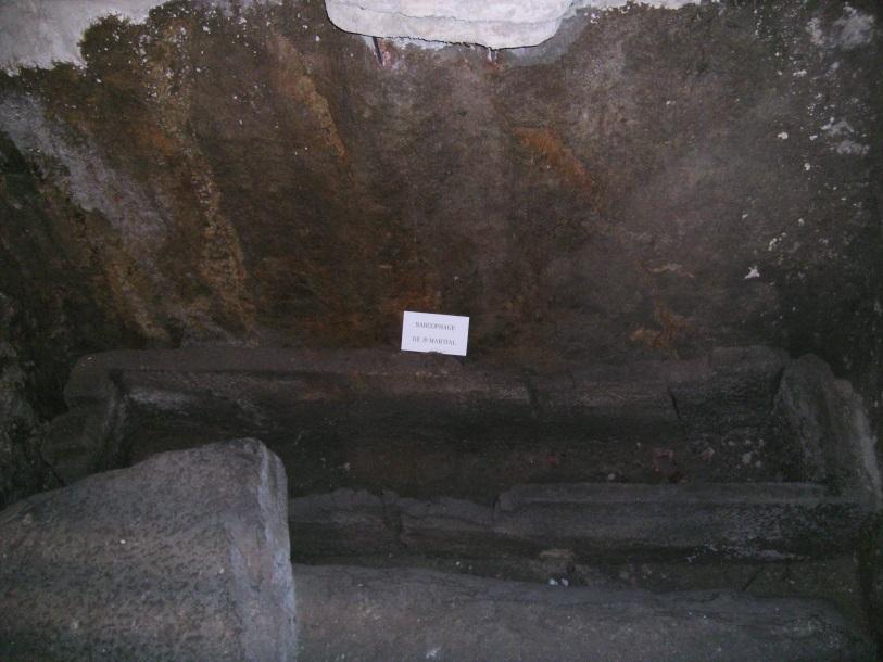 sarcofagul Sfantului Martial