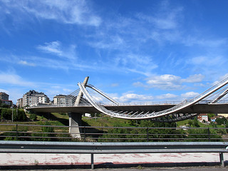 """""""Milenio""""  Puente  mirador de la ciudad * Orense"""