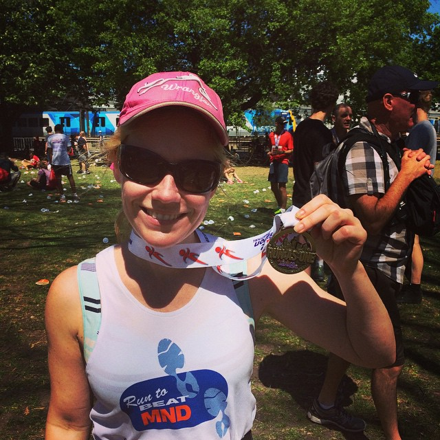 I bloody did it. #marathon #livinglist