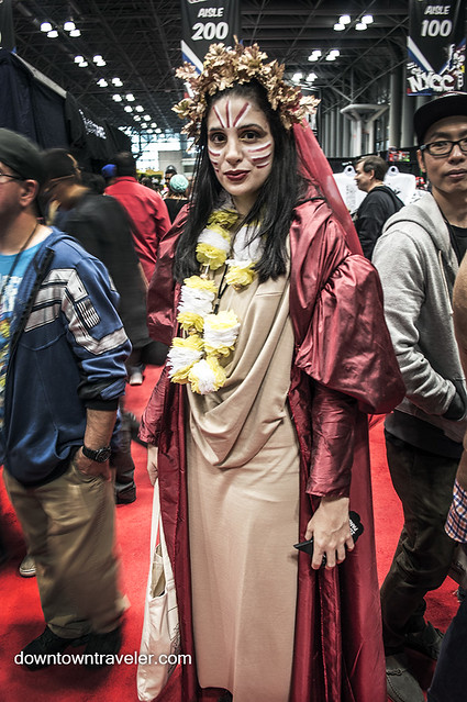 NY Comic Con 2014 Dr Who Queen of Years
