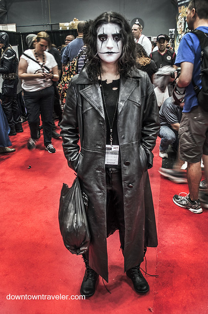 NY Comic Con 2014 The Crow