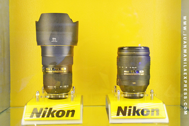NIKKOR LENSES AND OTHER NIKON ACCESSORIES ARE AVAILABLE AT THE NIKON SHOWROOM & SERVICE CENTER IN GREENBELT, MAKATI.