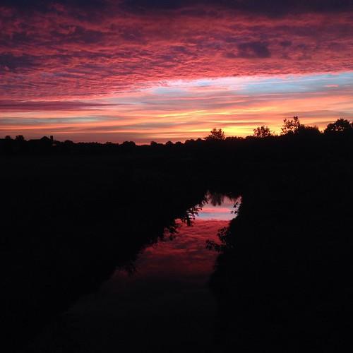 What Happens Ten Minutes Later #shirleyruns #postrun #itgetsbetter #sunrise