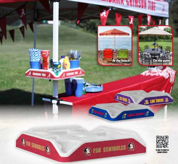 Kansas City Chiefs Tent & Pole Caddy