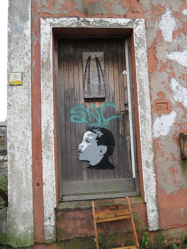 Stencil pasteup