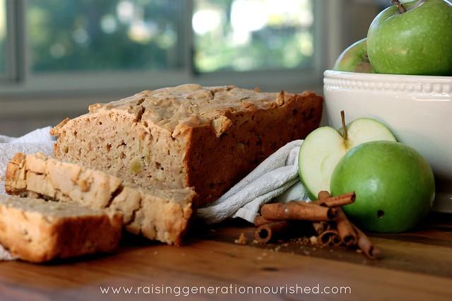 Sour Apple Breakfast Bread