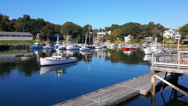 Perkins Basin in southern coastal Maine