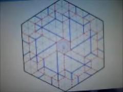 Robby Kraft's Snowflake Fractal CP Zooming In