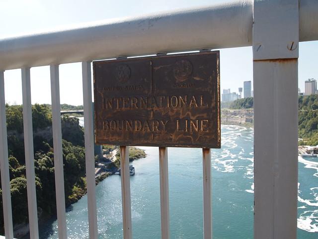 P9207834 カナダ,アメリカ,レインボーブリッジ,Rainbow Bridge,Niagara Falls,Ontario,Canada