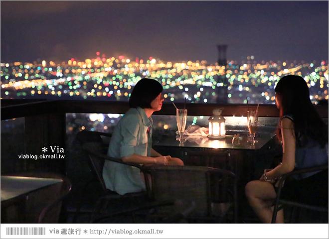 【台中夜景餐廳推薦】台中龍貓夜景~MITAKA 3e Cafe◎大推薦的台中約會地點♥ 54