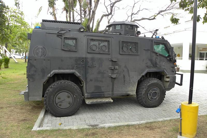 Blindado da CORE - Polícia Civil/RJ
